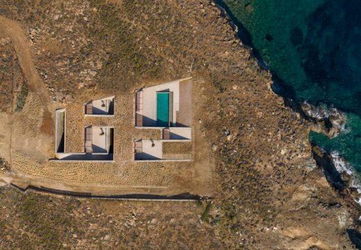 Kъщата-пещера, вкопана в скалите на Серифос