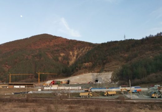 """Тунел """"Железница"""" ще бъде напълно прокопан през март"""
