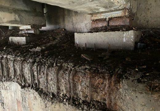 Ремонтират отворените фуги на моста при ЛВЗ в Русе