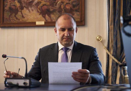 Президентът Румен Радев наложи вето на разпоредби от Закона за изменение и допълнение на Закона за устройство на територията