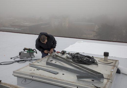 Започна ремонт на покрива на Старозагорската опера, за да не се мокри сцената