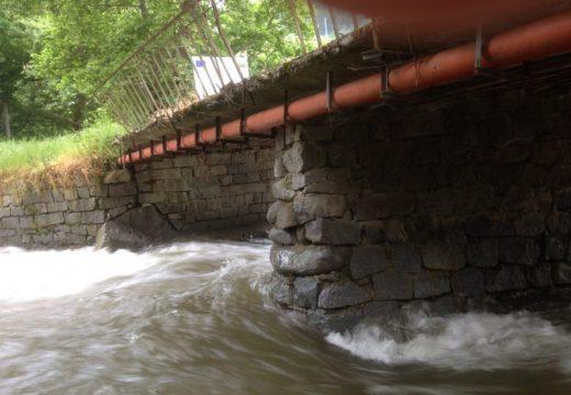 Укротяват река в Сандански