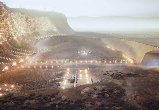 Човешки град на Марс:  Nüwa може да приюти 1 милион души