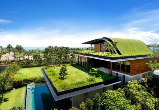 Зеленият покрив като шумо- и топлоизолация на сградата