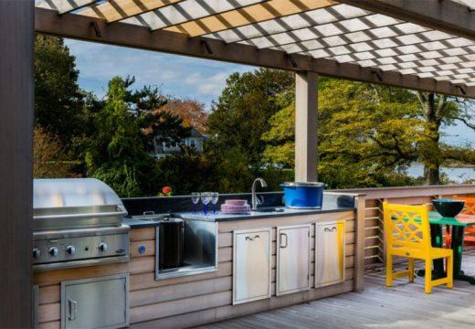 Лятна кухня в двора? О, да!