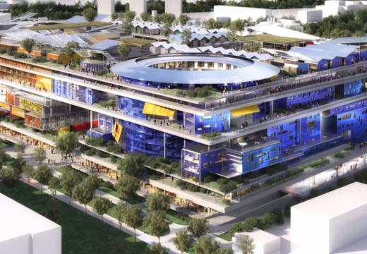 Жан Нувел проектира Jeuneville – нов квартал за парижани