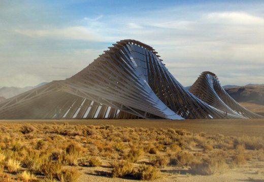Представиха проект за Соларна планина в пустинята