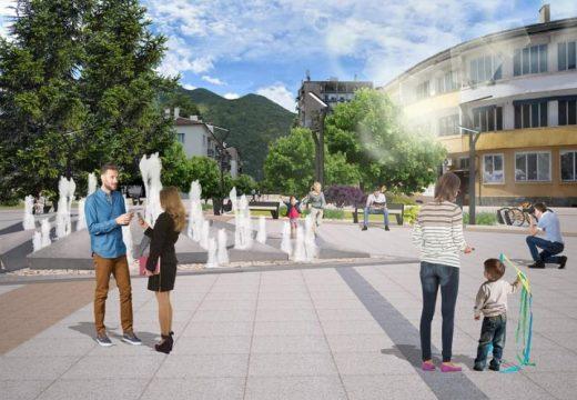 Реновират центъра на Враца