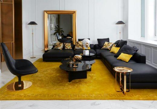 """""""Домът"""" на Versace отвори врати с нови решения за интериора"""