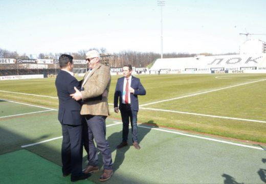 """Стадион """"Локомотив"""" се сдоби с разрешение за строеж"""